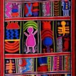 2004 戦争のない地球に  120×350   絹