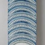 2003 藍染絞布(部分)  80×390