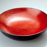 2005 塗分鎬丸鉢 46.5×46.5×12