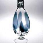2005 水玉双部花瓶  13×13×35