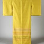 2015 若草首里花織着物「ひな祭りⅡ」