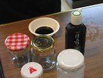 墨汁とシリコーンの薄め液